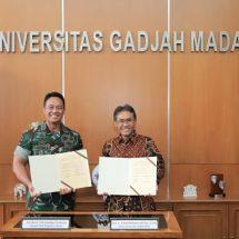 TNI AD Kerja Sama Pendidikan S2 dan S3 dengan UGM