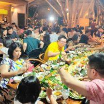 "Wisatawan Nikmati  ""Magibung"" di Wanaku 'Indo Asian Cuisine' Restaurant"