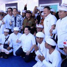 Ditinjau Menteri BUMN Erick Thohir dan DPR, Warga Pedungan Miliki Area Melasti di Pelabuhan Benoa