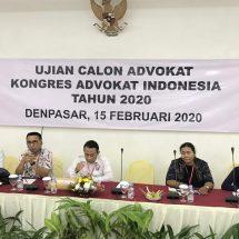 Ketua DPD KAI Bali: Advokat Jangan Berbohong kepada Klien