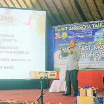 Motivasi Ratusan Anggota Koperasi Mulia Sejahtera Tabanan, Pak Oles: Penting Produk Berkualitas dan Kerja Solid