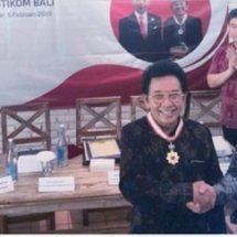 Berjasa di Bidang Seni dan Budaya, Kaisar Jepang Anugerahkan Bintang Jasa Kepada Prof. Dr. I Made Bandem,M.A.