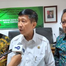 Dialog Dr. Mangku Pastika dengan HKTI, Bali Perlu Kembangkan Pertanian Organik