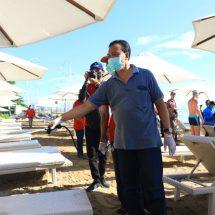 Cegah Corona, Bali Serentak Spraying Desinfektan di Kawasan Wisata