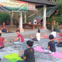 IPSA Bali Gelar Paket Reuni dan Temu Kangen, Sambil Rekreasi di Kebun Tanaman Obat Pak Oles