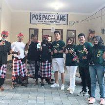 Aksi Peduli DPW PBB Bali Lawan Covid-19, Bagikan Hand Sanitizer dan Disinfektan