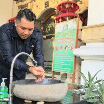 Cegah Corona, Kejari Denpasar Sediakan Dua Wastafel Portabel Untuk Publik