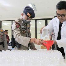 Unud dan Polda Bali Produksi Bio-Hand Sanitizer dari Minuman Beralkohol