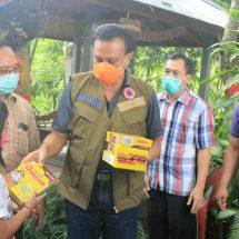 Sekda Bali Serahkan Bantuan Sembako ke Panti Asuhan di Sawan Buleleng
