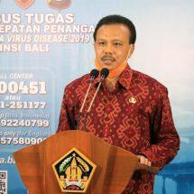 Sekda Sampaikan Kabar Baik, Tidak Ada Penambahan Kasus Positif COVID-19 di Bali
