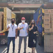 Bantu Warga Terdampak Corona, MS GLOW Kembali Distribusikan Seribu Paket Sembako