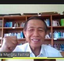 Vidcom Reses Mangku Pastika: Optimis Ekonomi Bali Bangkit di Tengah Covid-19