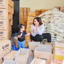 Peduli Covid-19, Maharani Berbagi Ribuan Paket Sembako