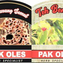 Pak Oles Siap Luncurkan Teh Benalu dan Teh Sarang Semut, Mengandung Anti Oksidan dan Cegah Kanker