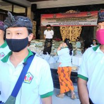 Bantu Warga Terdampak Covid-19, Yayasan Batan Kendal Suwung Kembali Bagikan Ratusan Paket Sembako