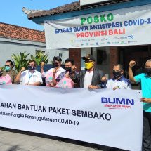 Peduli Covid-19, PLN UID Bali Sumbang 800 Paket Sembako