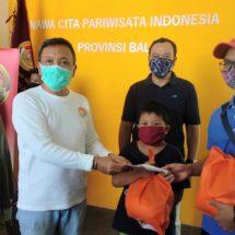 Peduli Warga Terdampak Covid-19, NCPI Bali Kembali Serahkan Bantuan Sembako