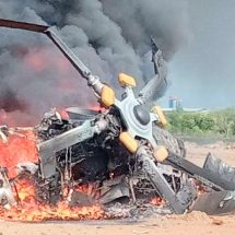 Heli M-17 TNI AD Jatuh di Kendal, Empat Crew Meninggal, Lima Luka-luka