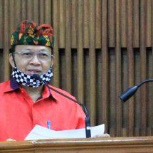Gubernur Koster Kumpulkan Bendesa, Kades dan Lurah Tangani Covid-19 di Denpasar