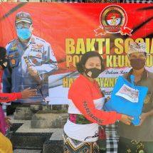 Bakti Sosial Di Pura Penataran Ped Dalam Rangka HUT ke-74 Bhayangkara