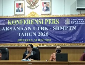 Rektor Unud: Antisipasi Penyebaran Covid-19, Peserta UTBK SBMPTN Harus Sehat