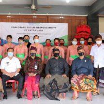 CSR PT. Pertamina dan PT. Patra Jasa Edukasi Pembuatan Dupa Alami di Mengwi
