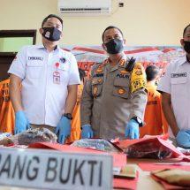 Polresta Denpasar Amankan 26 Bandar dan Kurir Narkoba
