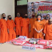 Polresta Denpasar Tangkap 16 Pengedar dan Kurir Narkoba