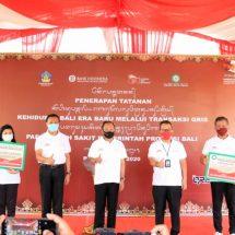Gubernur Koster Sambut Baik Penerapan Tatanan Kehidupan Bali Era Baru Melalui Transaksi QRIS Pada Rumah Sakit