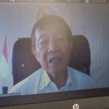 "Dialog Interaktif ""Ketahanan Pangan"", Anggota DPD RI Dr. Mangku Pastika Dorong Tamatan Pertanian Jadi Petani Maju"