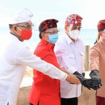Gubernur Koster Rancang Pelabuhan Sampalan dan Bias Munjul Bermotif Ukiran Kuno Khas Nusa Penida