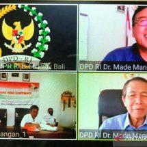 """Dialog Interaktif Dr. Mangku Pastika,M.M.: """"Tipping Fee"""" Bisa Atasi Masalah Sampah di Bali"""