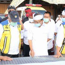 Gubernur Koster Bersama Menteri PUPR Tinjau Lokasi Rencana Pembangunan Jalan Tol Mengwi-Gilimanuk