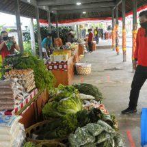 Bantu Petani dan UMKM Lokal, Inspektorat Provinsi Bali Gelar Pasar Gotong Royong