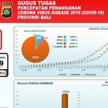 Perkembangan Covid-19 di Bali: Kesembuhan Pasien Terus Meningkat, Capai 87,22 Persen