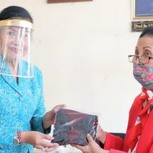 Melalui GEBRAK Masker Ny. Putri Koster Ajak Seluruh Kader PKK Wujudkan Bali Bebas Covid-19