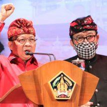 Gubernur Koster-Wagub Cok Ace Sampaikan Laporan Dua Tahun Kinerja Memimpin Bali