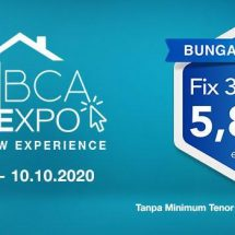 BCA Hadirkan KPR BCA ONLINEXPO, Nasabah Dapatkan Bunga Spesial 5,88%