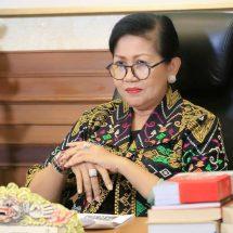 Ny. Putri Koster Ajak BKKBN dan Dasa Wisma Aktif Dukung Pembangunan Keluarga di Masa Pandemi Covid-19