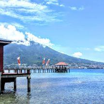 Kawasan Wisata Pulau Maitara Diserbu Pengunjung