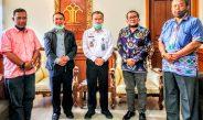 Pengurus DPP-IKBB dan Lembaga Konsultasi Bantuan Hukum Audiensi Ke Kanwil KemenkumHAM Bali
