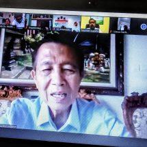 Kunjungan Kerja Dr. Mangku Pastika, Banyak Lahan Pertanian Menganggur di Bali