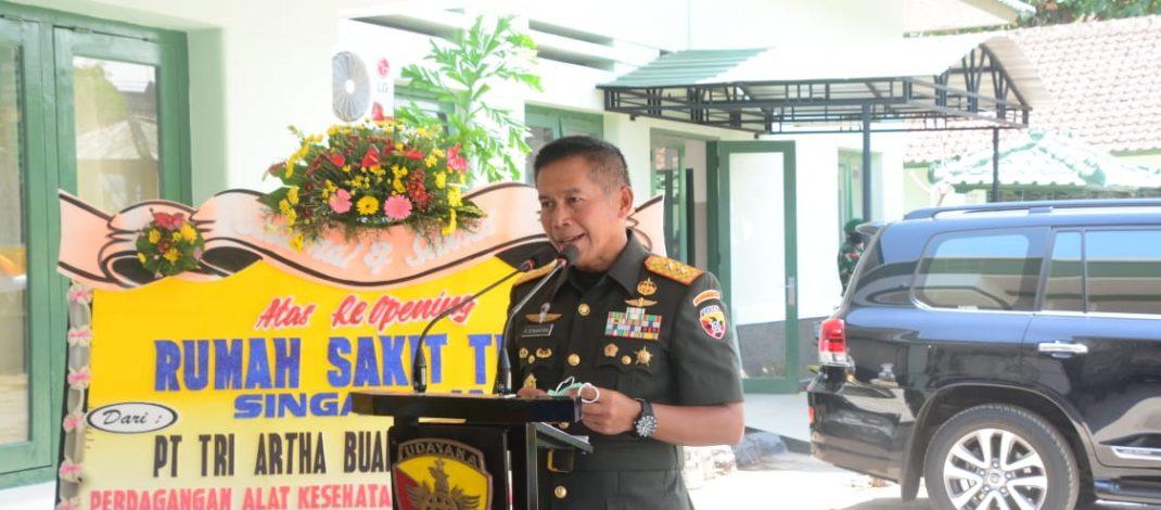 Pangdam Lantik 400 Prajurit Tamtama TNI AD, Dilanjutkan dengan Re-Opening RST Singaraja