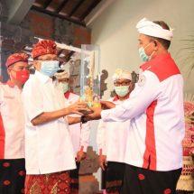 Kukuhkan Pengurus APBEDNAS Bali, Gubernur Koster Ingin Dana Desa Dikelola Lebih Terfokus