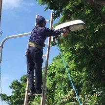 Dukung Keamanan dan Kenyamanan di Jalan Raya, Dishub Denpasar Intensifkan Perawatan LPJU
