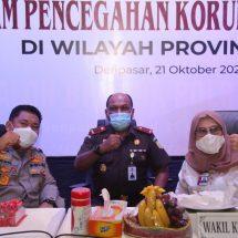 Cegah Korupsi, KPK Gelar Rakor dengan Aparat Penegak Hukum di Bali