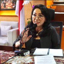 Ny. Selly Mantra Buka Webinar Inovasi Desain Kemasan Produk Lokal Menembus Pasar Digital