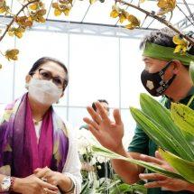 Angkat Potensi Lokal, Ny. Putri Koster Ingin Diadakan Pameran Anggrek Bali