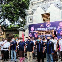Garda Pemuda NasDem Denpasar Dikukuhkan, Harapkan Anak Muda Jangan Alergi Politik