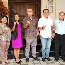 Beri Bantuan Pendampingan Hukum, DPC Peradi Denpasar Audiensi Dengan Flobamora Bali